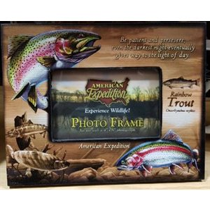 Canvas Photo Frame Rainbow Trout