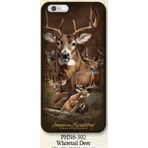 Iphone 6 Cover Whitetail Deer Collage