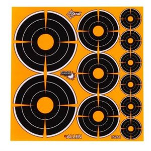 EZ AIM ADHESIVE SPLASH BULLSEYE VARIETY PACK 1IN-72, 2IN-36,