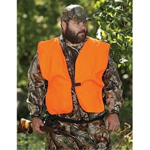 BIG MAN HUNTING VEST, BLAZE ORANGE