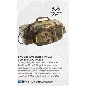 EXCURSION 350 WAIST PACK - RT XTRA / TANREALTREE XTRA