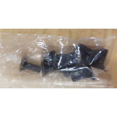 "10-24 X 1 / 2"" fhsch black zinc"