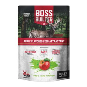 BOSS BUILDER APPLE FLAVORED FEED 5LBS