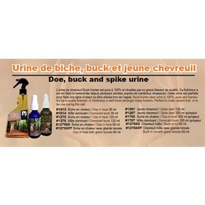 BUCK URINE 60 ML
