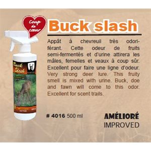 BUCK SLASH CHEVREUIL 500 ML