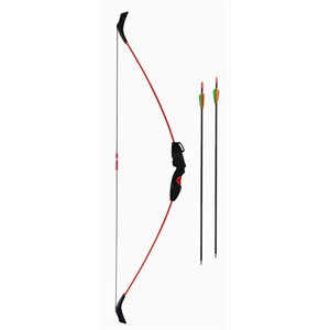 The Flux® 15 LB. Adjustable Youth Bow with Fiberglass Arrows