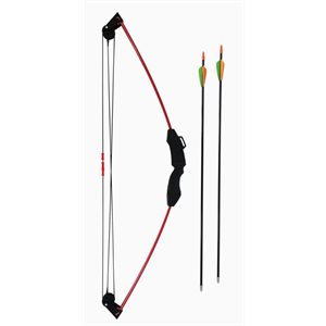 The Tracker® 12 LB. Compound Youth Bow with Fiberglass Arrow
