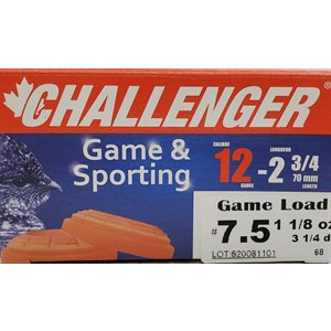 12 GA Game & Sporting#7,5