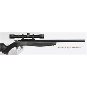 "HUNTER™ COMPACT Blued / Black – .243 - 20"" Barrel w / Rail Base"