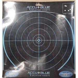 "AccuBlue Splatter Target 12"" Round 5Pk"