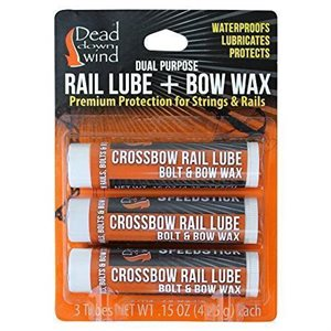 Rail Lube / Bow Wax - 3 pk