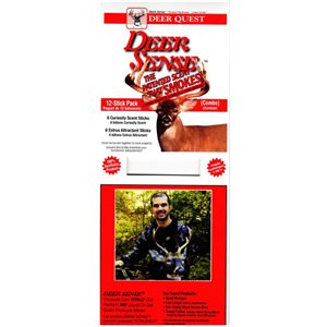 "Deer Sense Combo Pack 3 each of Part ""A"" & Part ""B"""