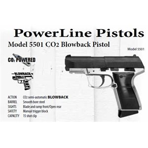 5501 CO2 Blowback Pistol