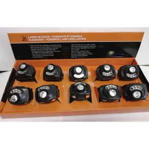 CREE XP-E2 R3 LED, max output is 200lm DISPLAY DE 10 UNITÉS