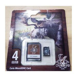 MICRO SD CARD 4GO CLASS 6