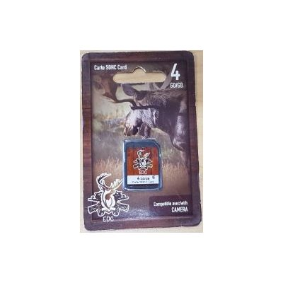 CARTE SD / CARD 4GO / GB