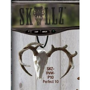 """Skullz"" mirror hanger, Perfect 10 pnt. Deer"