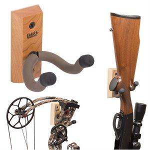 Hardwood Vertical Firearm / Bow HolderHardwood Vertical Firear