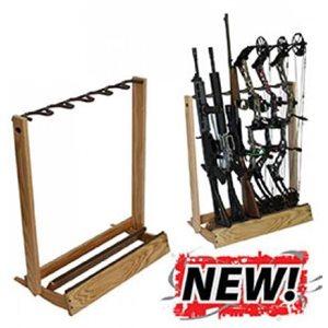 Hardwood Folding Firearm / Bow RackHardwood Folding Firearm / Bo