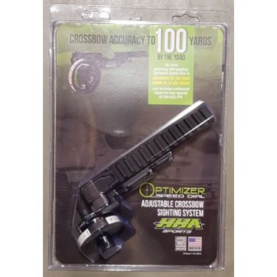Optimizer Speed Dial Cross Bow Sight Mount