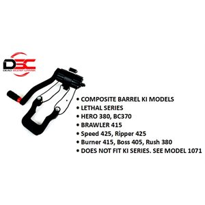 DSC COMPACT CRANK- WIDE SLED