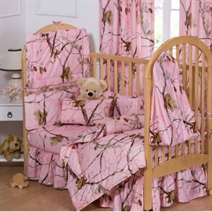 ALL PURPOSE PINK CRIB SET