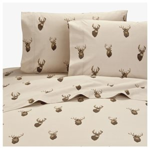 BROWNING WHITETAIL SHEET SET QUEEN