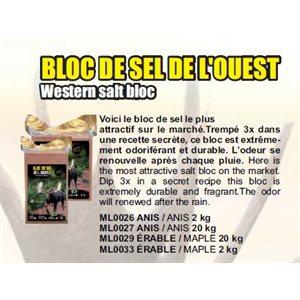 BLOC SEL DE L'OUEST ERABLE 2KG10PACK