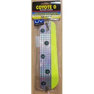 "0 Coyote Flasher 8-1 / 4"" Flo.Chart / Green UV"
