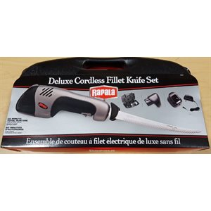 Deluxe Recharge Cordless Electric Fill Knife