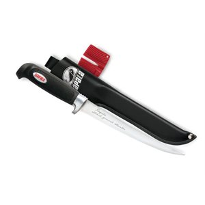 "6"" Soft Grip Fillet Includes Sharpener"