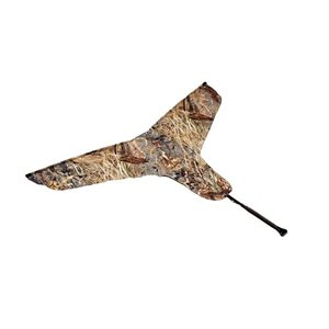 Double Trouble Goose Flag,Canada / Camo w / Flag Bag, Poly Bag