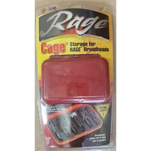 """Rage Cage"" Travel Case"