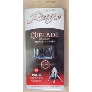 3 Blade Shock Collars