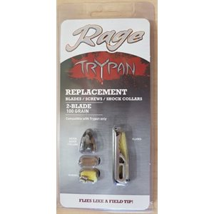 """""""Rage Replacment Blades for Hypodermic Trypan & Trypan Cross"""