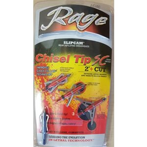 """""""Rage Chisel 2 Blade 100 gr. 2"""""""" with SC Technology """""""