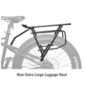 Rear Extra Large Luggage Rack