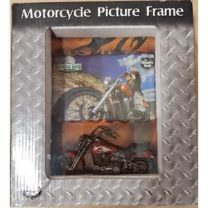 MOTORCYCLE PICTURE FRAME