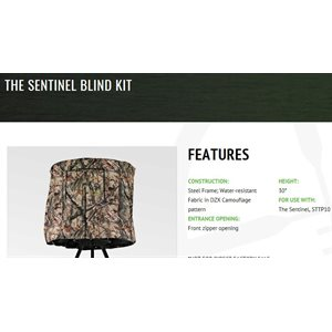 THE SENTINEL BLIND KIT NEW