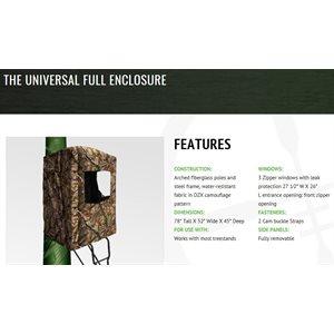 universal full enclosure blind