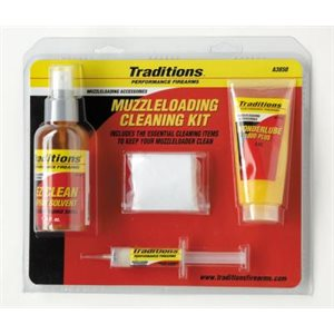 Basic Muzzleloader Cleaning Kit / Cleaning / 50 cal. / / 6