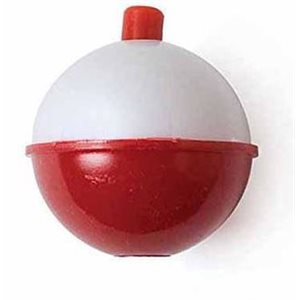 """FLOAT SNAP-ON RED / WHT 1-1 / 4"""" 3-pk"""